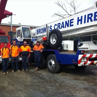 Browns Cranes Hire